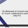 """Screenshot_2021-03-16 Gli affidamenti di incarichi esterni e le """"nuove"""" collaborazioni autonome nella P A Procedure di conf[...]"""